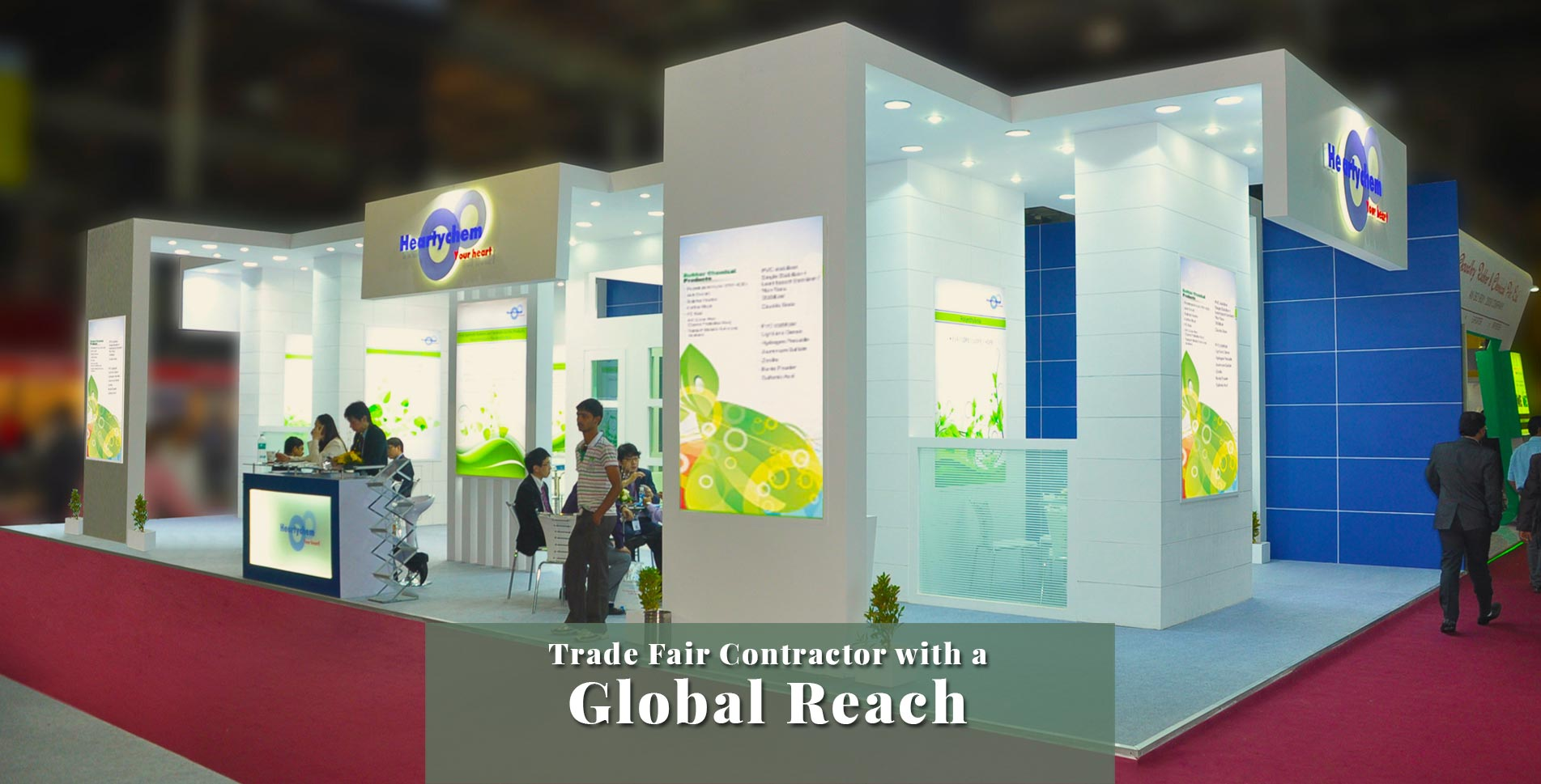 Trade Fair Contractor with a Global Reach