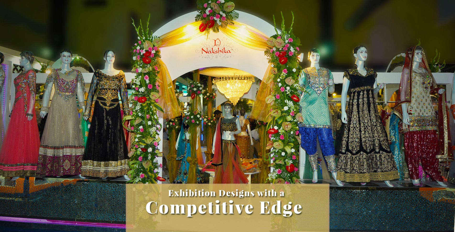 Exhibition Designs with a Competitive Edge