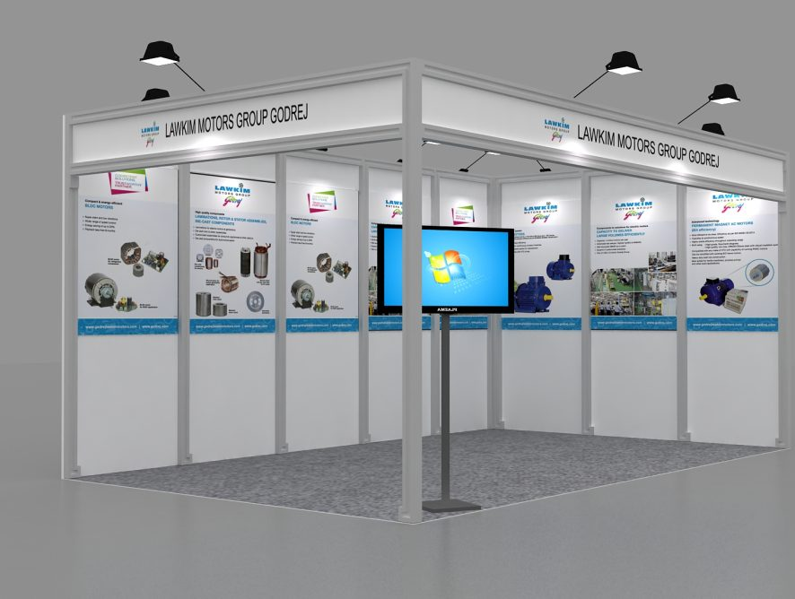 Exhibition stall designer in ELECRAMA-2018.