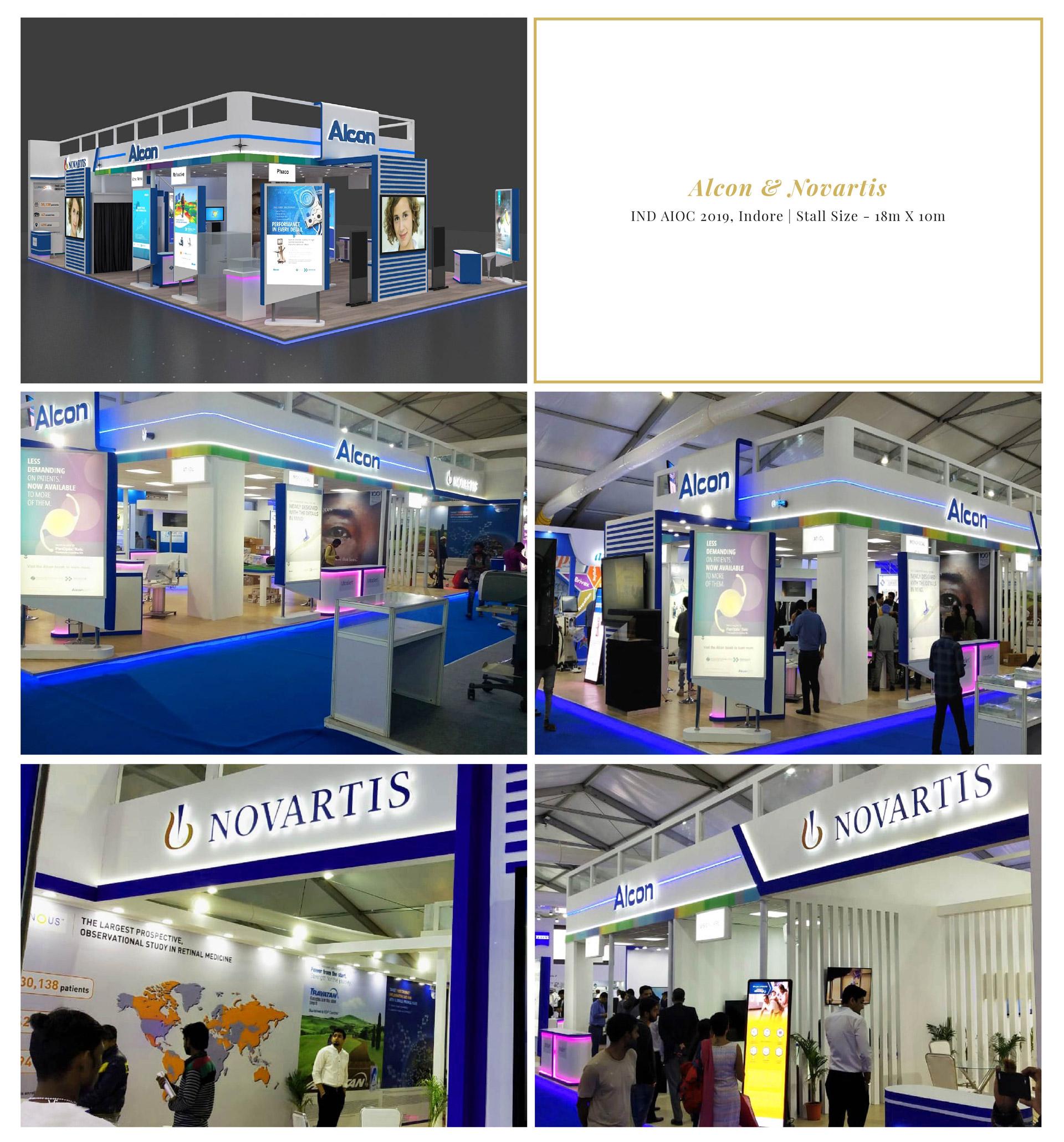 Alcon & Novartis - IND AIOC 2019, Indore