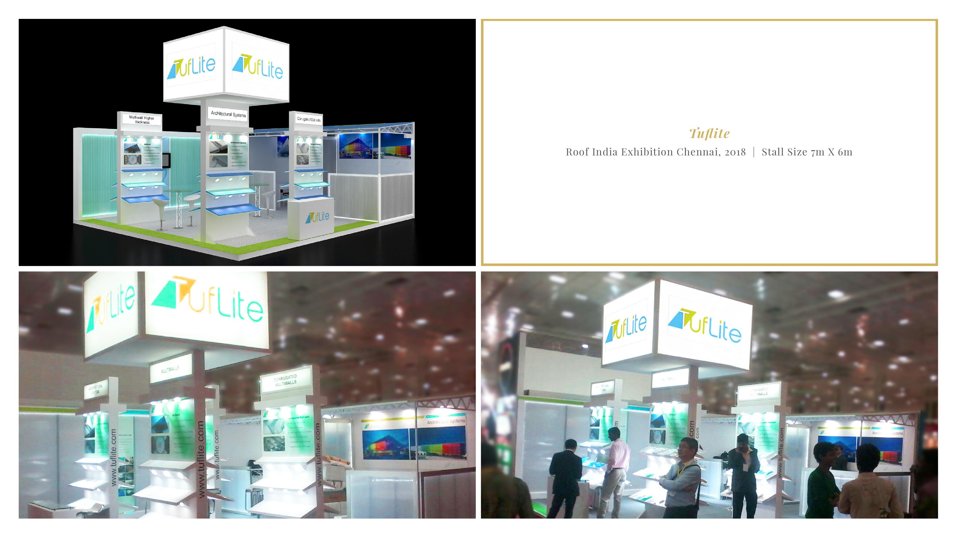 Tuflite - Roof India Exhibition Chennai 2018