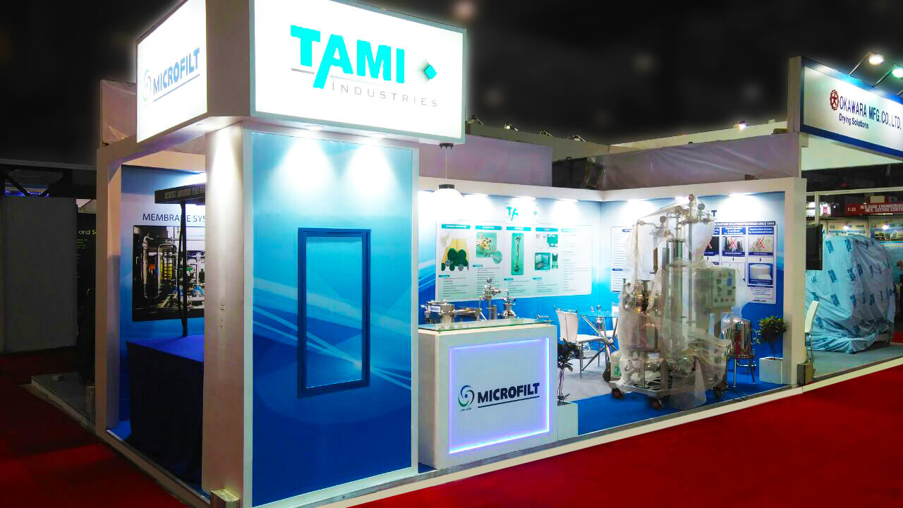 Make Your Exhibition Stall Design Stand Out at the Chemtech World Expo