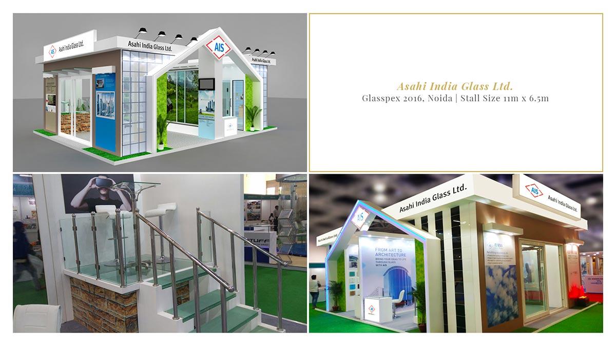 Asahi Glass - Glasspex 2017, Noida
